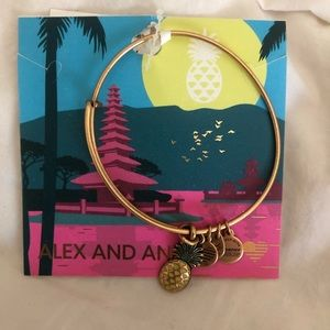 Pineapple Alex and Ani